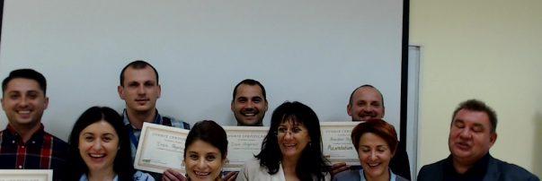 Мениджърите на Фрапорт присътваха на обучение по презентационни умения